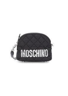 Moschino Mini Quilted Nylon Crossbody Bag