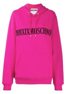 Moschino MMXIX hooded sweatshirt