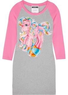 Moschino My Little Pony Printed Stretch-cotton Jersey Mini Dress