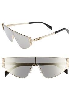 Moschino 132mm Shield Sunglasses