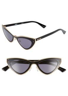 Moschino 50mm Cat Eye Sunglasses