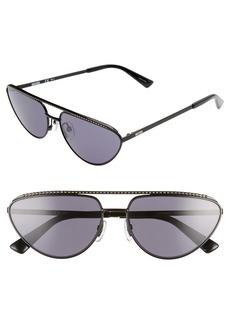 Moschino 60mm Cat Eye Sunglasses