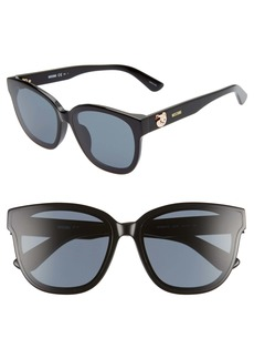 Moschino 63mm Oversize Special Fit Sunglasses