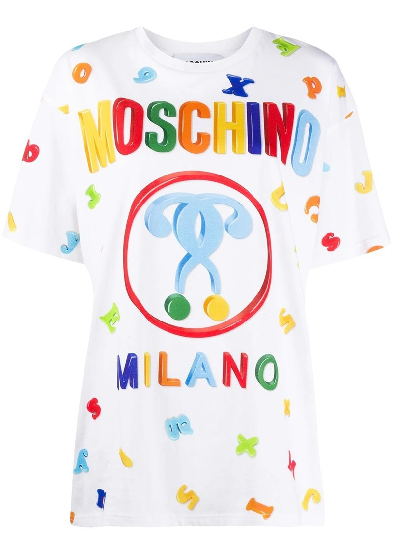 Moschino letters print T-shirt