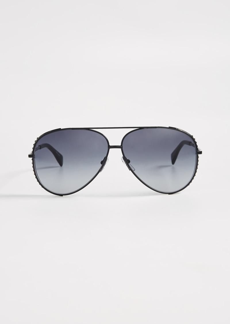 1e033511c6b1b Moschino Moschino Aviator Sunglasses
