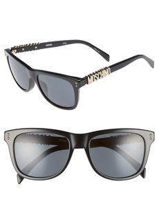 Moschino 53mm Polarized Sunglasses