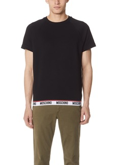 Moschino Basic Short Sleeve Sweatshirt