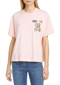 Moschino Beaded Bear T-Shirt