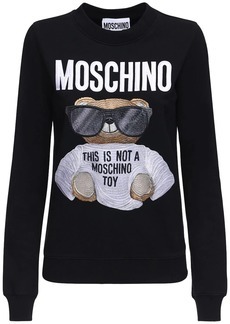 Moschino Bear Jersey  Sweatshirt