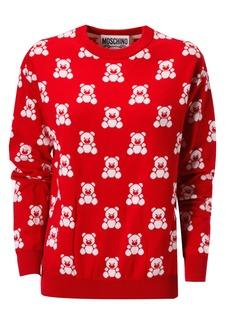 Moschino Bear Print Sweatshirt