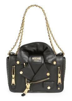 Moschino 'Biker Jacket' Shoulder Bag