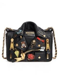 Moschino Biker Jacket Shoulder Bag