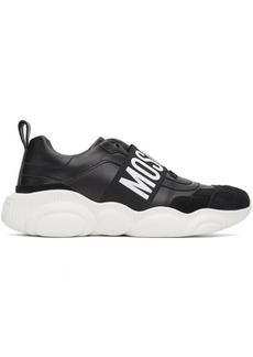 Moschino Black Logo Strap Sneakers