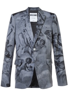 Moschino blazer with angels - Grey