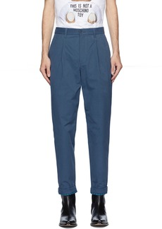Moschino Blue Fantasy Print Trousers