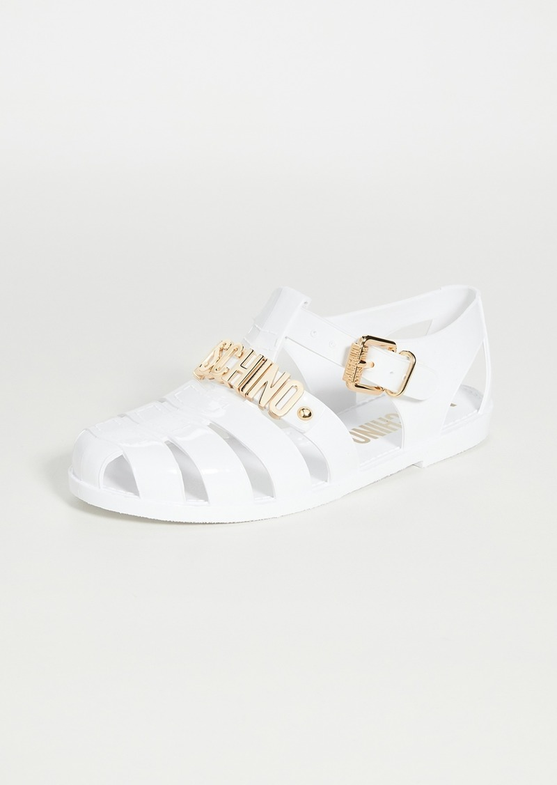 Moschino Buckle W Sandals