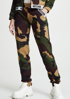 Moschino Camo Sweatpants