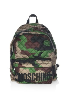 Moschino Camouflage Backpack