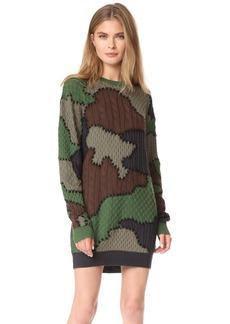 Moschino Camouflage Dress