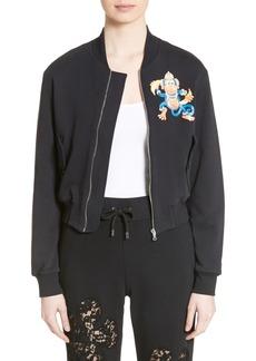 Moschino Cartoon Animal Fleece Jacket