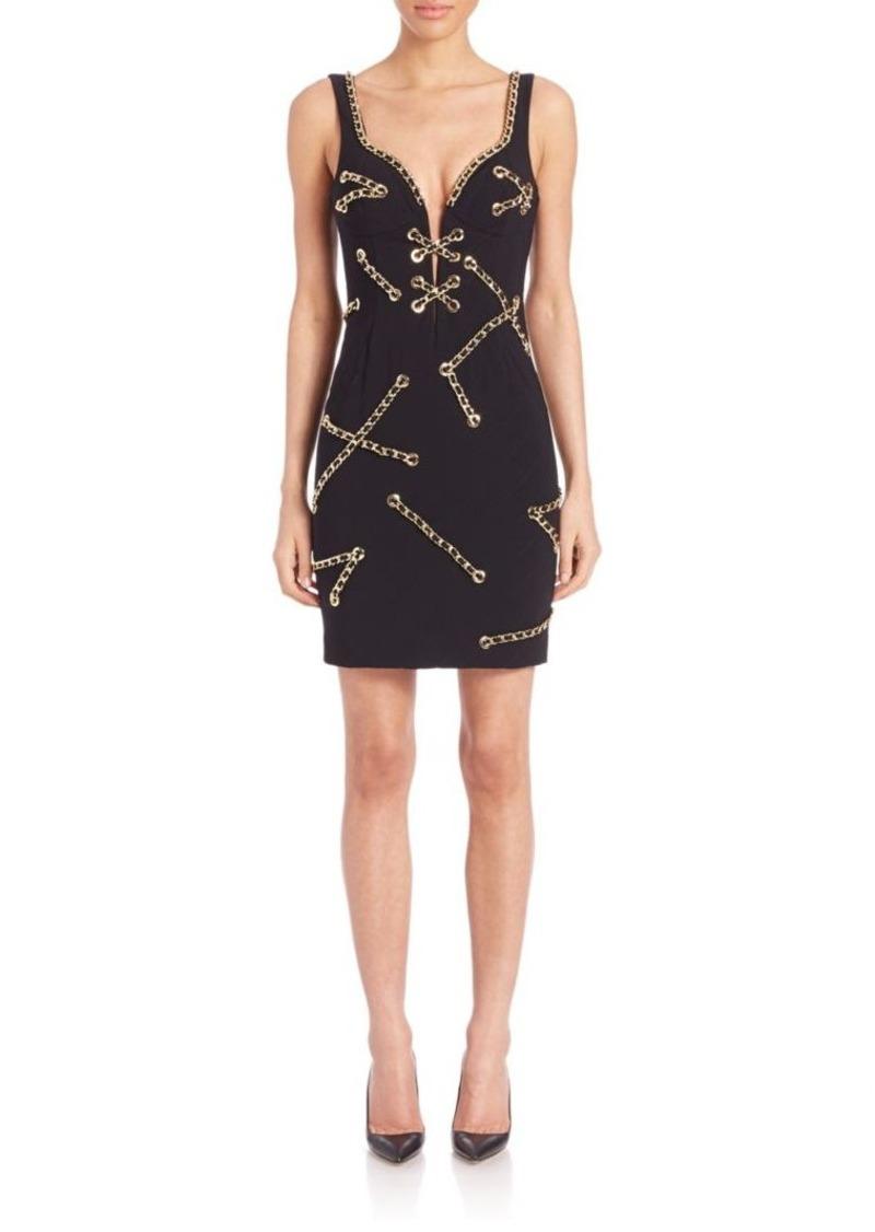 Moschino Chain-Detail Dress