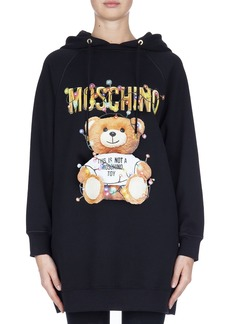 Moschino Christmas Teddy Hoodie Dress