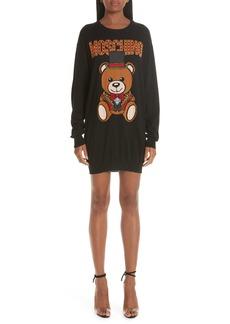Moschino Circus Teddy Sweater Dress