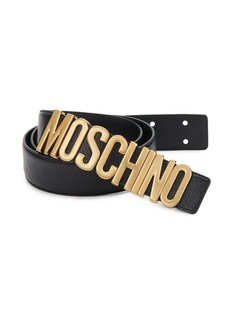 Moschino Classic Leather Belt
