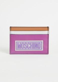 Moschino Colorblock Cardholder