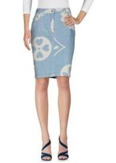 MOSCHINO - Denim skirt