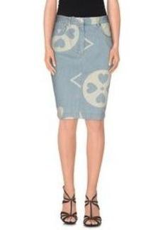 MOSCHINO COUTURE - Denim skirt