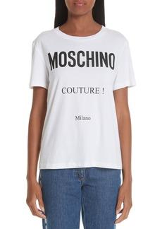 Moschino Couture Logo Tee