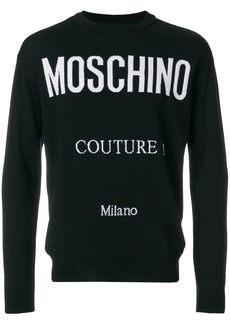 Moschino Couture Milano Sweater