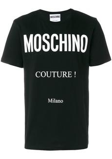 Moschino Couture Milano T-shirt - Black