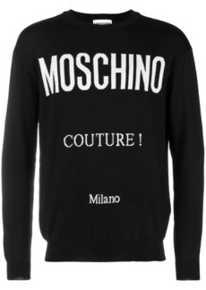 Moschino Couture print jumper
