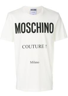 Moschino Couture print T-shirt - White