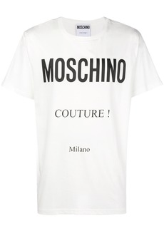 Moschino Couture print T-shirt