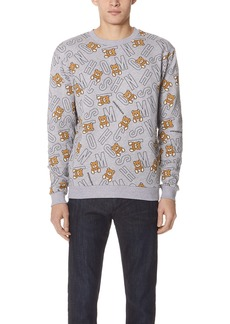 Moschino Crew Neck Sweatshirt