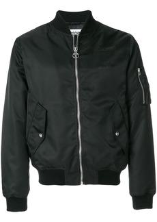 Moschino cropped bomber jacket - Black