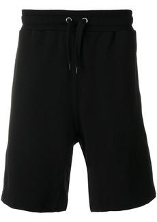 Moschino drawstring track shorts - Black