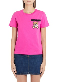 Moschino Embellished Teddy Tee