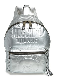 Moschino Embossed Teddy Bear Backpack