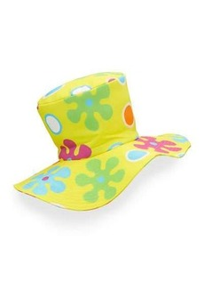 Moschino Floral Floppy Top Hat