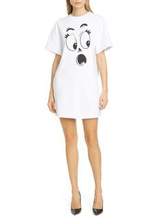 Moschino Ghost Face T-Shirt Dress