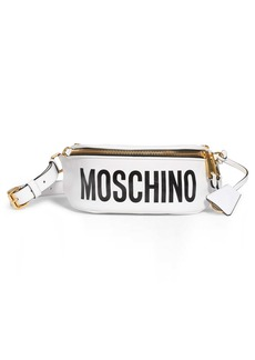 Moschino Gladiator Teddy Leather Belt Bag