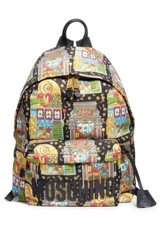 Moschino Jackpot Logo Backpack