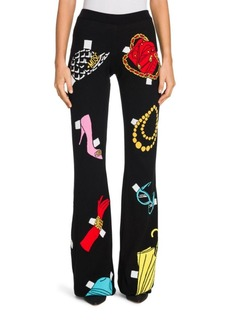Moschino Jersey Flare Pants