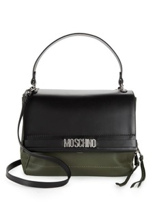 Moschino Leather Satchel