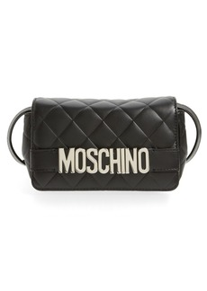 Moschino 'Letters' Quilted Crossbody Bag