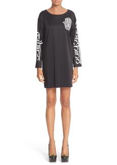 Moschino Logo Cady Tunic Dress